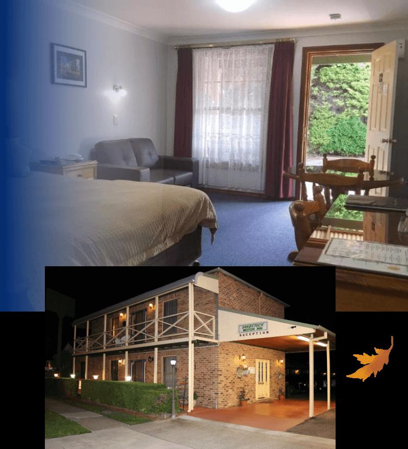 About Sandstock Motor Inn - Motel Accommodation Armidale